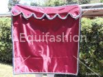 Tenda box cavallo bordeaux